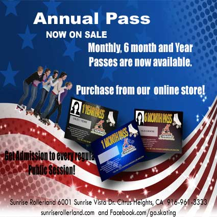 Passes annual semi or monthly